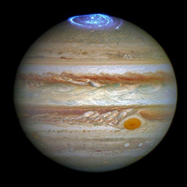 Jupiter's Northern Lights