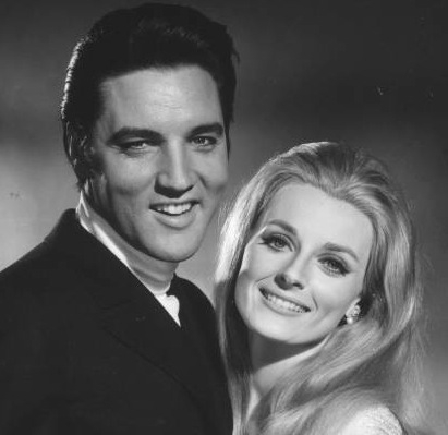 Elvis and Celeste Yarnall
