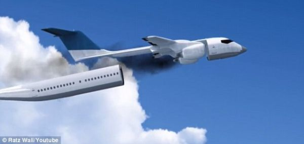 Cool Concept For Plane That Can Detach Its Entire Cabin In An Emergency