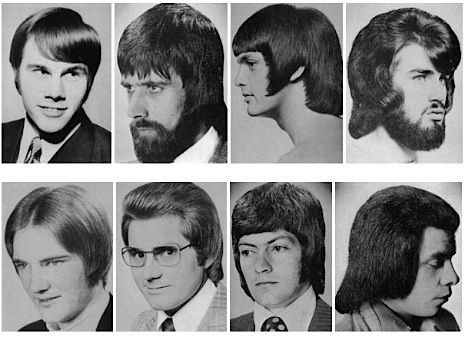 A Collection Of Men\'s Hairstyles From The 1970s - Neatorama