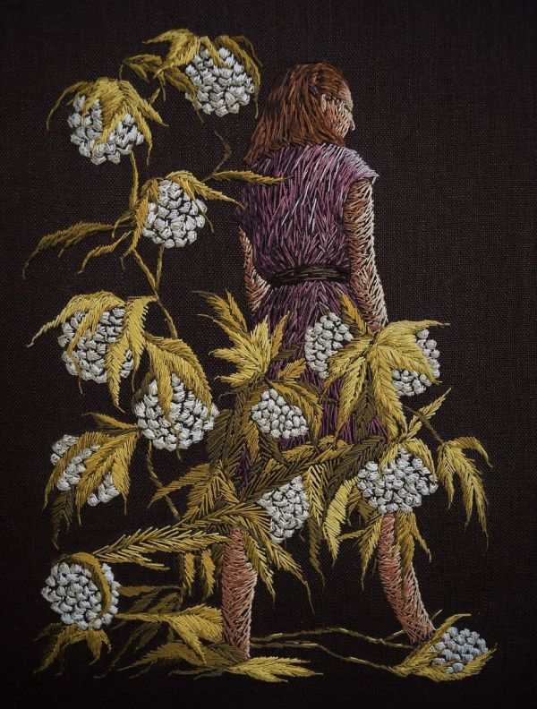 Michelle Kingdom's Embroidered Narratives