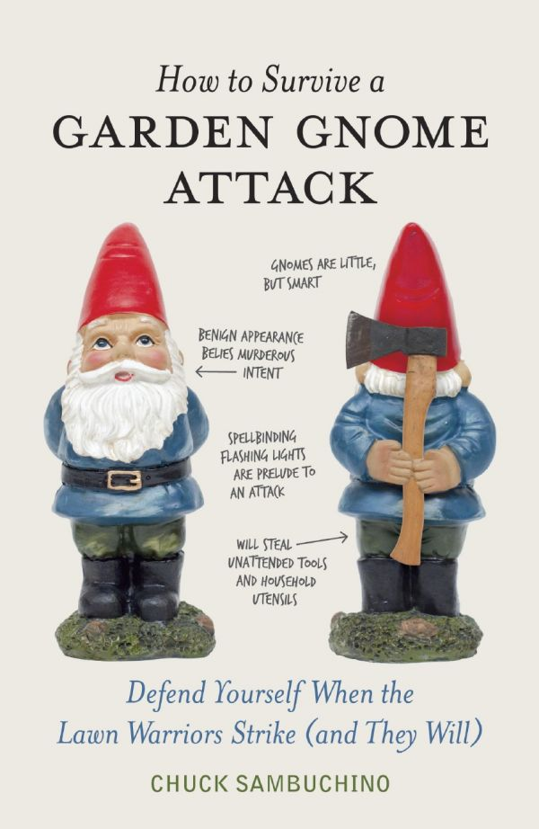 Class 1 Gnome Slayer And Gnome Defense Expert Chuck Sambuchino Has  Developed A Proven Systemu2014Assess, Protect, Defend, Applyu2014for Safeguarding  Property, ...