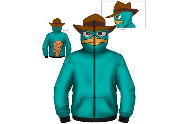 Perry the Platypus Hoodie