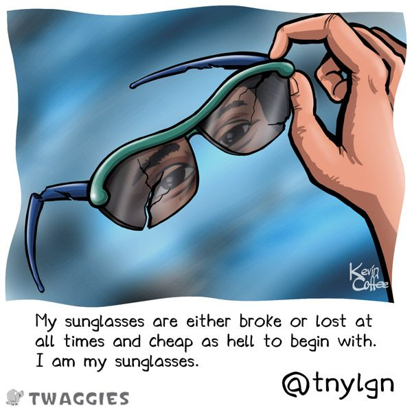 sunglasses cartoon
