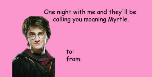 Hilariously Awful Harry Potter Valentine's Day