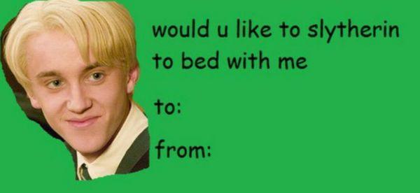 Hilariously Awful Harry Potter Valentine