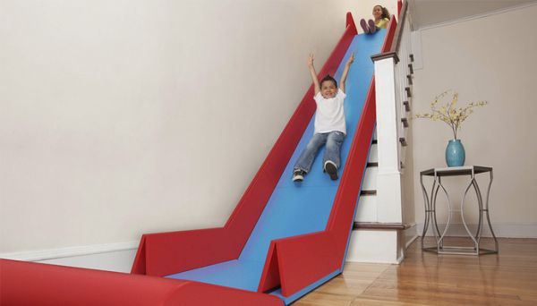 Make Any Staircase Into A Slide With The SlideRider - Neatorama