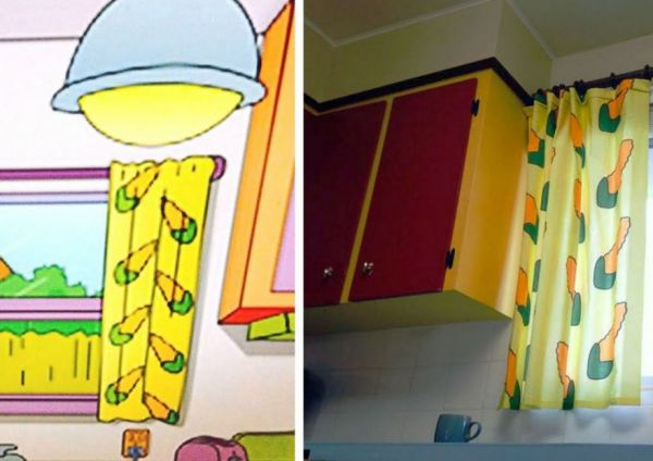 The simpsons kitchen turned into reality neatorama for 742 evergreen terrace real life