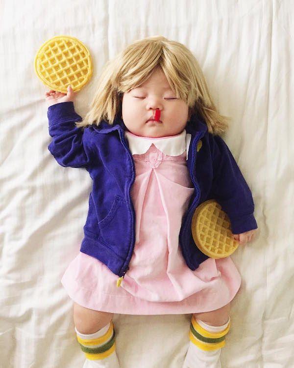 Baby Eleven Dreams of Waffles