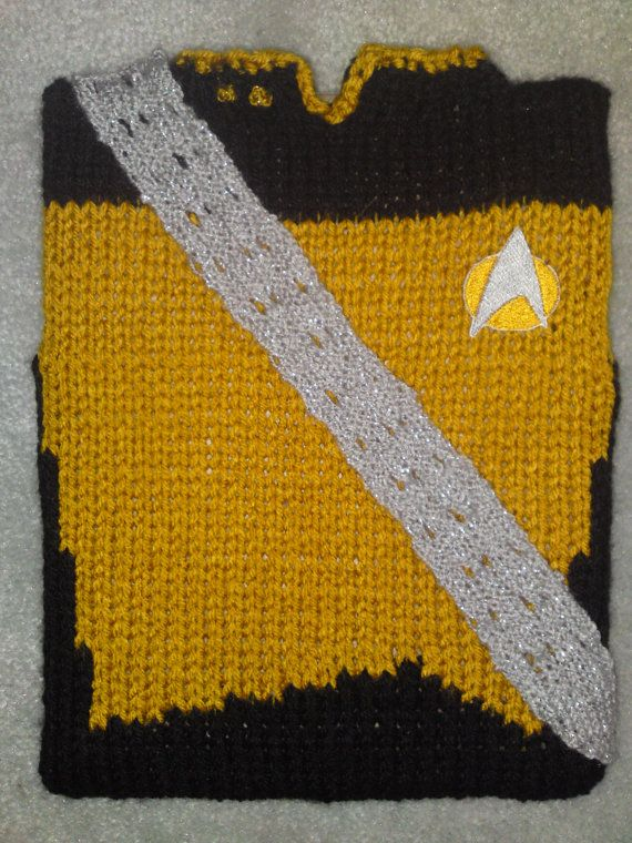 Knitted Star Trek iPad Covers - Neatorama