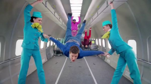 OK Go Goes Zero Gravity