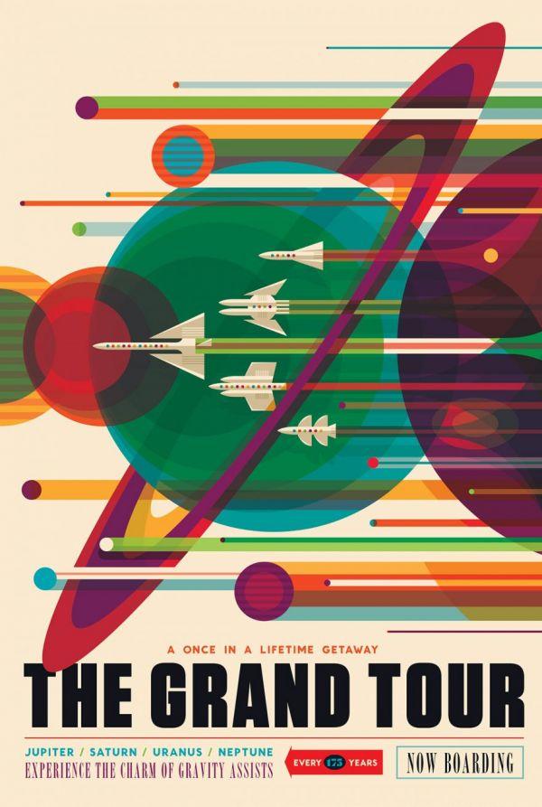 NASAs Visions of the Future Poster Series