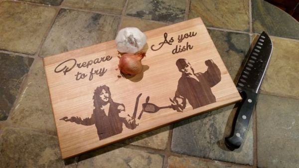 Funny Pun Filled Pop Culture Cutting Boards Neatorama