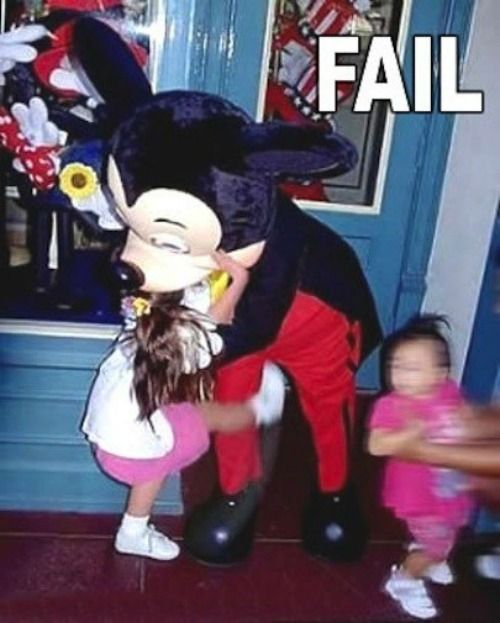 Hilarious Photo Fails From Inside Disney Parks