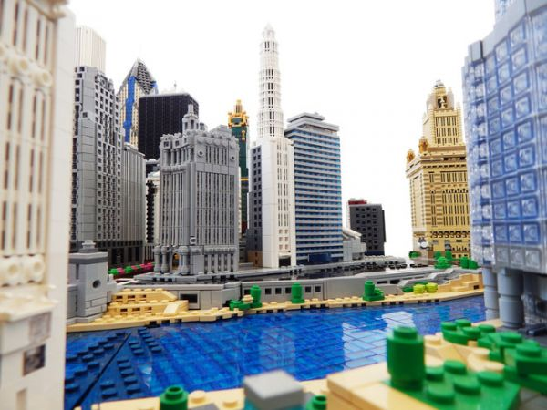 Rocco Buttliere Is Building Chicago One Skyscraper At A Time In LEGO The Architecture Student Has Already Completed Over 30 Buildings Past Few