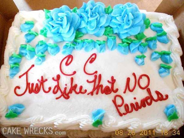 The Best Literal LOLS in Cake Wrecks History Neatorama