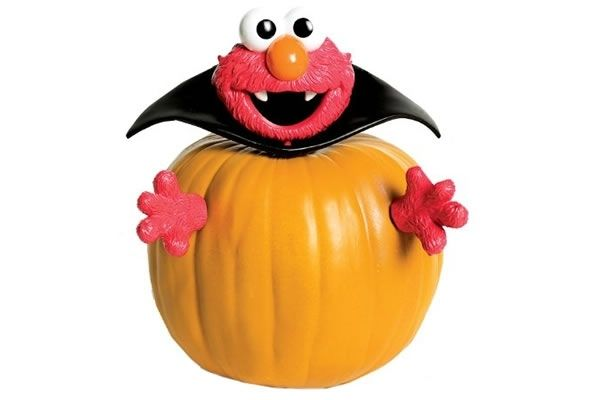 Elmo Pumpkin Push Ins Neatorama