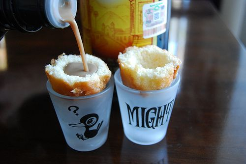 donut shot glasses