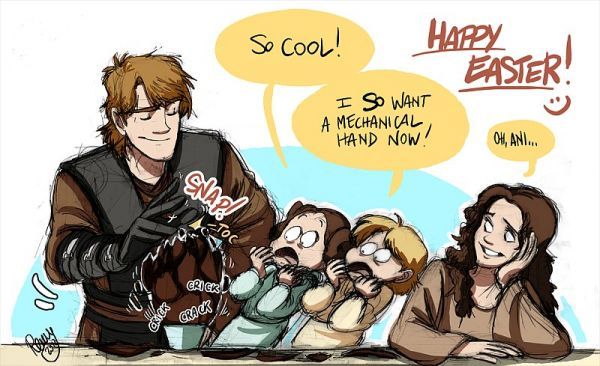 Skywalker Family Comics--If Anakin Didn't Join the Dark ...