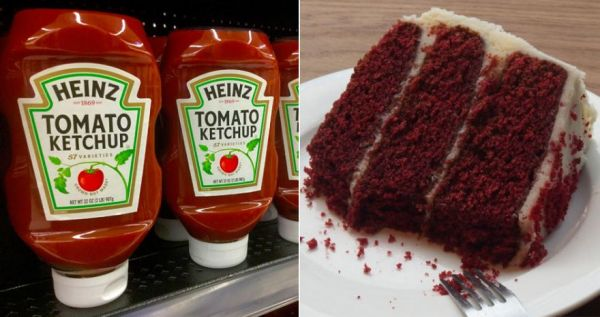 Ketchup Cake is a Thing -Should Not Be a Thing