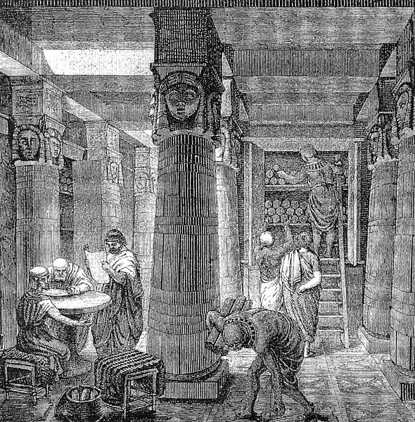 The Fierce, Forgotten Library Wars of the Ancient World