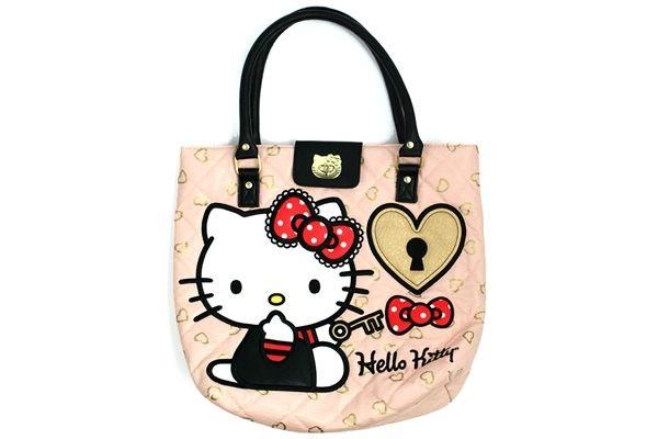 Hello Kitty Lock and Key Tote Bag 0e9c2e1a37a0a