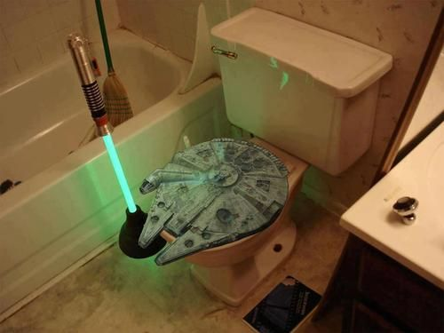 Star Wars toilet