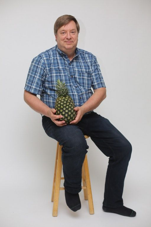 A Man and His Pineapple