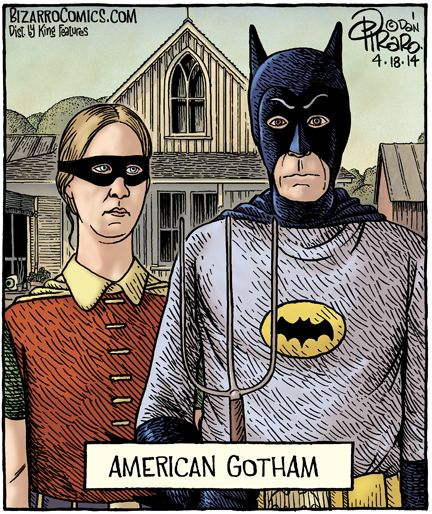 American Gothic Posts