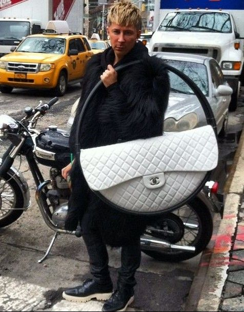 Hula Hoop purse
