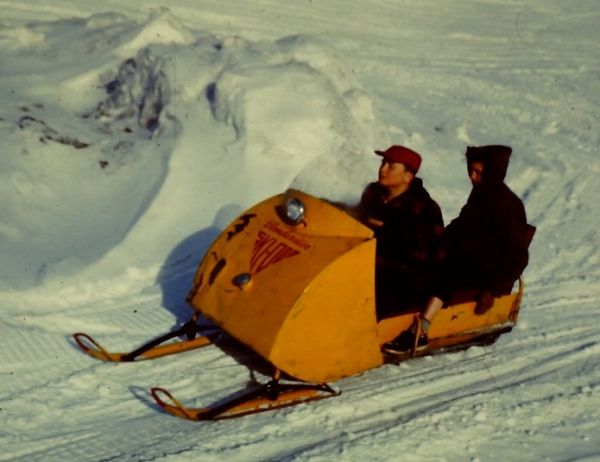 The History Of The Snowmobile Neatorama