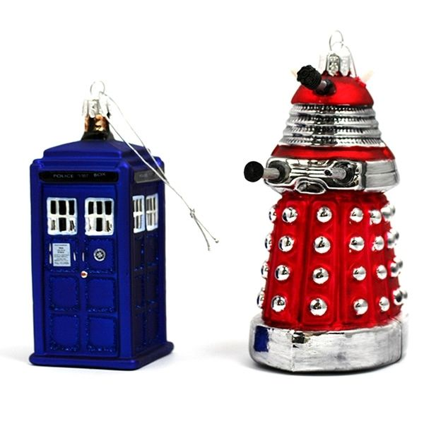 Doctor Who Christmas Ornaments - Neatorama