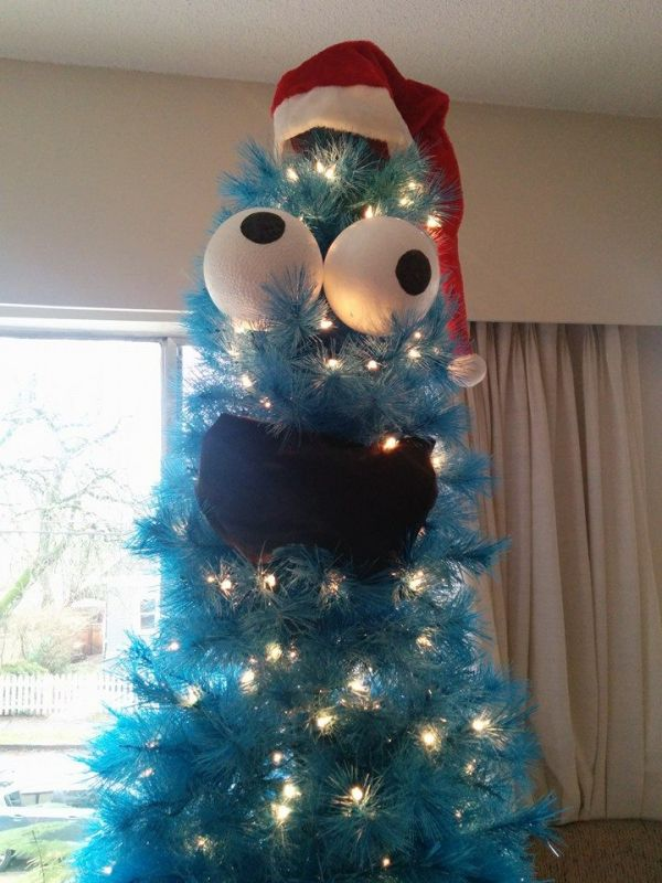 How To Decorate A Blue Christmas Tree Neatorama