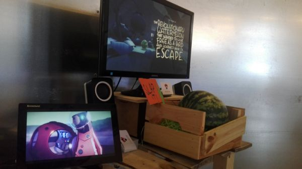 A Game Where You Slap A Watermelon To Learn About The Horror Of Being A Watermelon