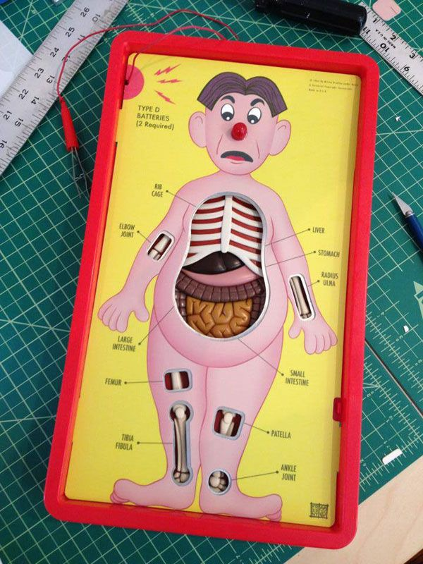 Anatomically Correct Version Of The Game Operation