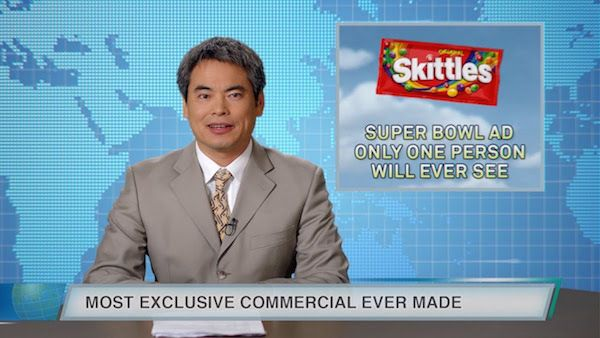 Skittles Created A Super Bowl Ad That Will Be Seen By Only One Person