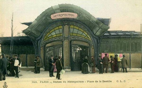 Why Paris Greatest Art Nouveau Metro Stop Is No More