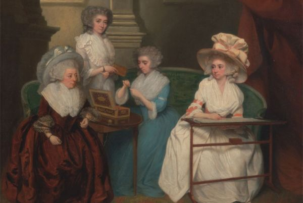 Getting Dressed in the 1700s