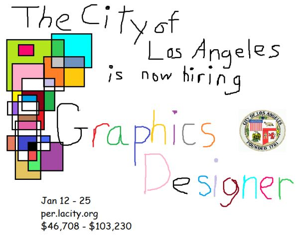 Job Opening for a Graphic Designer