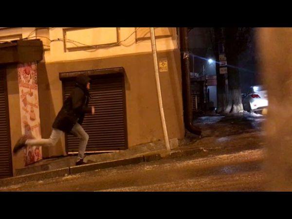 Watching This Guy Try To Walk Up An Icy Hill Will Make Your Day