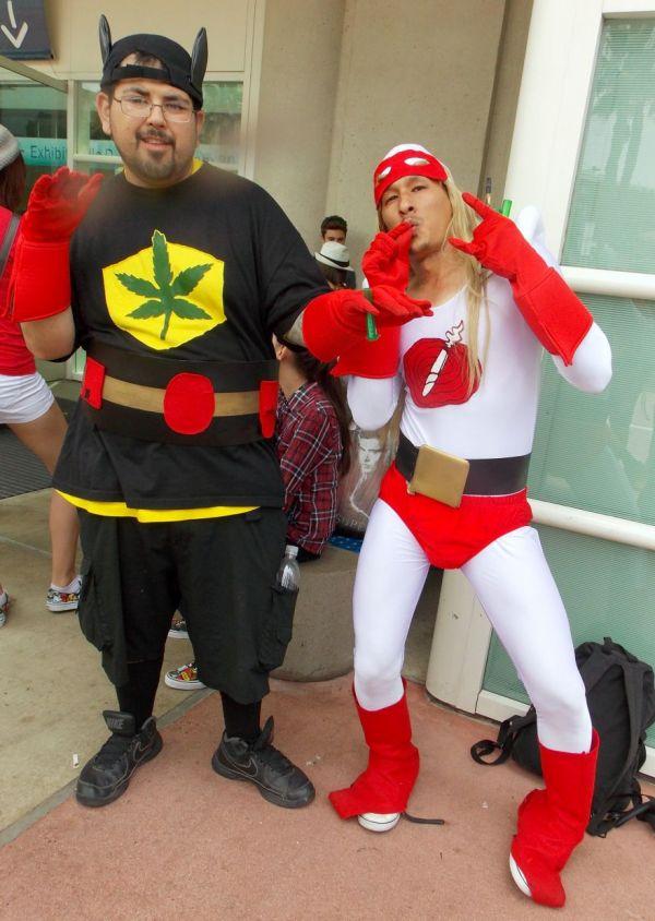 bluntman costume