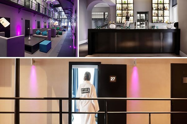 Hotel Het Arresthuis Jail Turned Into Luxury Hotel l Het Arresthuis, a Pleasant Hotel Jail