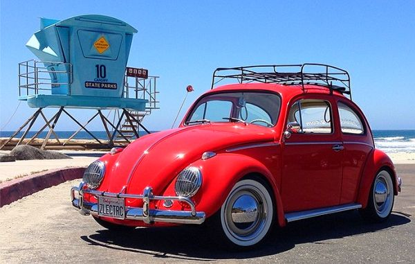 making an electric vintage vw beetle neatorama. Black Bedroom Furniture Sets. Home Design Ideas