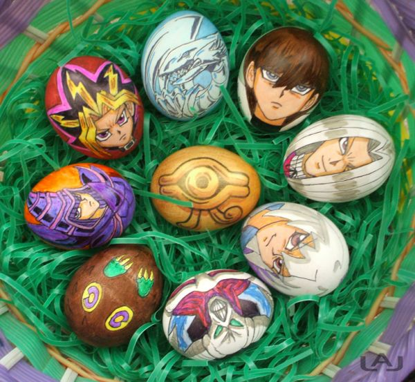 Yu-gi-oh Easter eggs