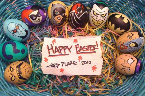 Batman Easter eggs