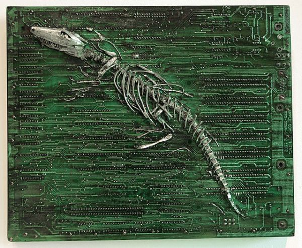 circuit board fossil