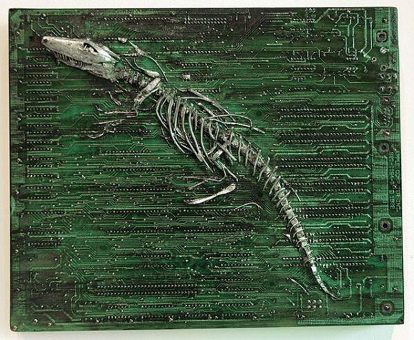 circuit board fossil
