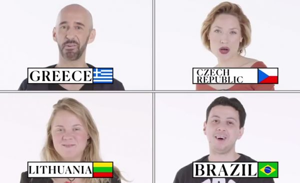 70 People Imitate What Cats and Dogs Sound Like in 70 Countries
