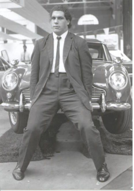 efore he was the biggest competitor in the ring the man who would be known as André the Giant was simply André René Roussimoff, dapper man about town who made lifting cars look easy.