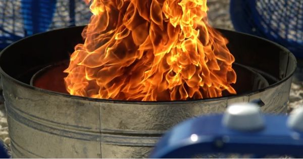 Neatorama - This slow motion fire tornado is the coolest thing youll see all day